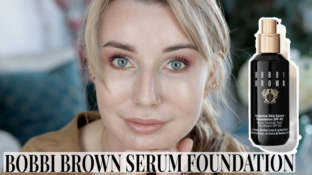 PODKŁAD BOBBI BROWN INTENSIVE SKIN SERUM FOUNDATION TEST
