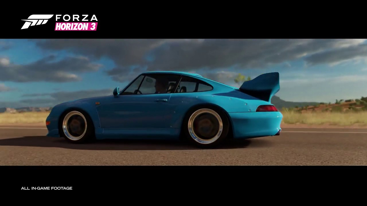 forza horizon 3 porsche car pack trailer youtube. Black Bedroom Furniture Sets. Home Design Ideas