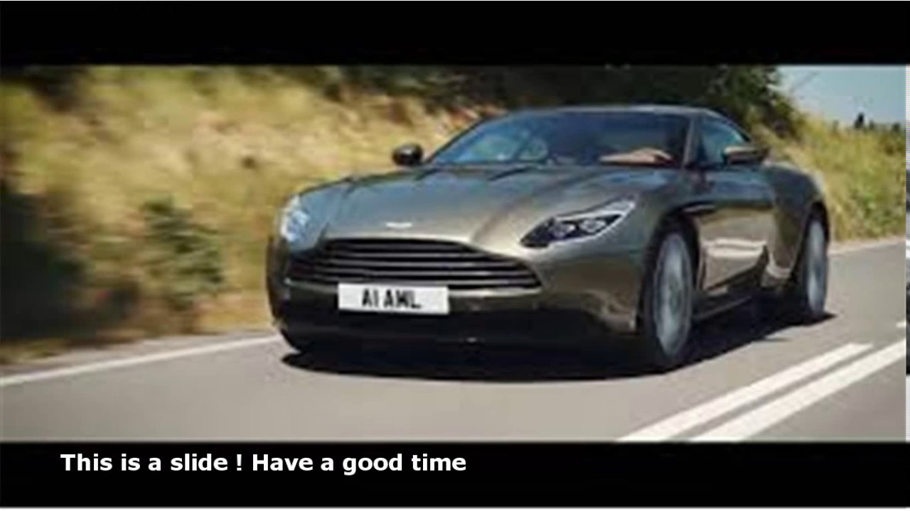 Amazing Aston Martin Used Car Commercial