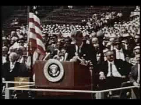 John F. Kennedy - Address on the Space Effort