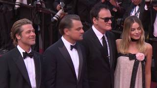 Once Upon a Time in Hollywood Cannes Film Festival  Palais Red Carpet B-Roll || #SocialNews.XYZ