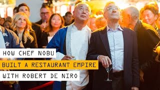 The Incredible Journey of Chef Nobu and His Restaurant Empire With Robert De Niro | Inc. Magazine
