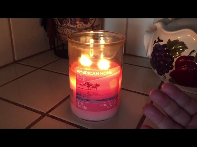 American Home Walmart Candle REVIEW