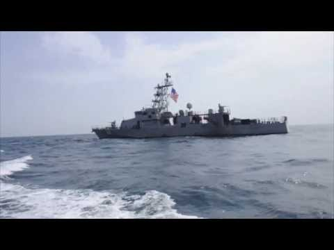 BAHRAIN!  Cyclone-Class Coastal Patrol Boat - The USS Firebolt!