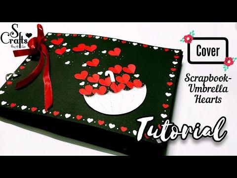 Scrapbook Cover Tutorial ✂️   Handmade   Scrapbook ideas   S Crafts