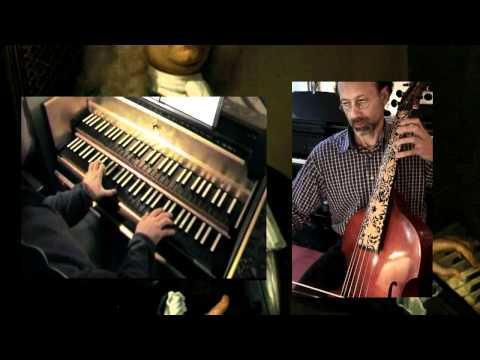 Handel (or Leffloth) Concerto (Sonata) for Harpsichord and Viola da Gamba part 4