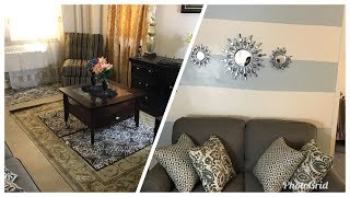LIVING ROOM TOUR UPDATE 2018 PART2:  NOT BAD, BUT DID GOOD