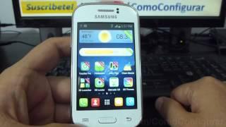 Como Cambiar el Theme o fondo de Android samsung Galaxy Young S6310 español Full HD