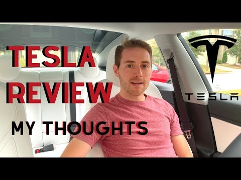 Why I Drive a Tesla Model 3 - My Review - 동영상