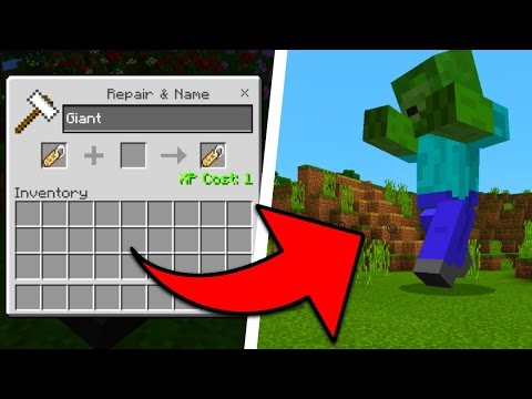 NUOVI MOB GIGANTI su MINECRAFT Pocket Edition! PE ITA - Видео из Майнкрафт (Minecraft)