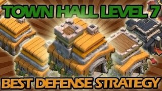 Clash of Clans | TH7 EPIC DEFENSE| SUPER TROLL BASE