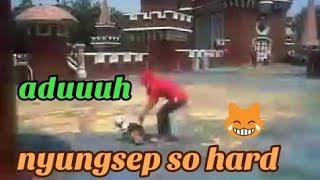 moment lucu dan bahagia  ditaman mini Indonesia indah jakarta