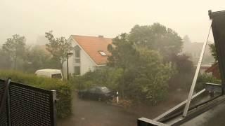 Unwetter in Rheda-Wiedenbrück 27.07.2013