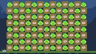 Bad Piggies - EXTREME 100 TNT AND 100 PIGGIES EXPLOSIONS