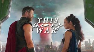 thor&valkyrie | this means war