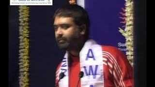 Mr. Deepak Chaurasia, was invited at Suryadatta National Award.