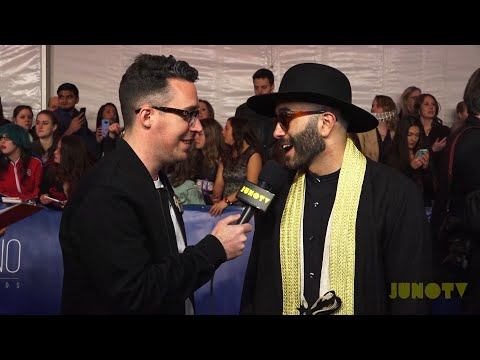 "Yassin ""Narcy"" Alsalman On The 2017 JUNO Awards Red Carpet"