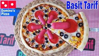 Evde Dominos Dev Malzemos Pizza Tarifi