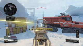 Snipers Nest=Best Streak in BO4 Black Ops 4 59-4 TDM 100 Gameplay