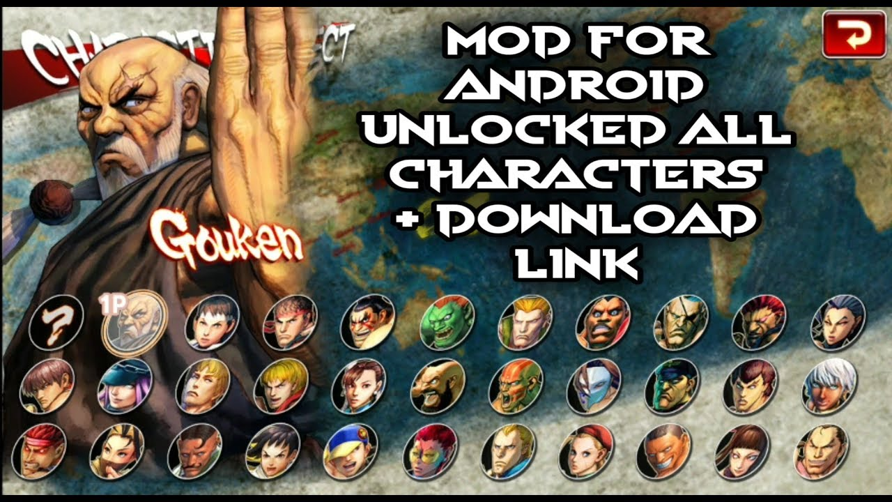 Street Fighter IV Champion Edition Unlocked All Characters MOD APK Download