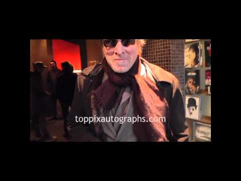 Will Patton - Signing Autographs at the 'Meek's Cutoff' Premiere in NYC