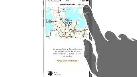 iPhone iPad Anleitung: Standort der Freunde via Siri bestimmen