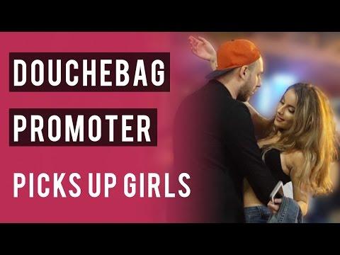 Douchebag Night Club Promoter Picks Up Girls - Night Game & Kiss Close Infield