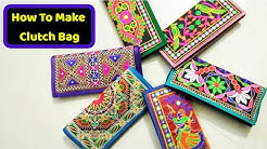 super new Clutch bag make at home Diy how to make stylish clutch in hindi  like amazon,flipkart  2018 - Duration  19 56. 0673686000