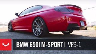 BMW 640i M-Sport   'Melbourne Red'   Vossen VFS-1