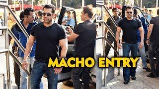 Salman Khan Macho Entry At NOTEBOOK Trailer Launch | Pranutan, Zaheer