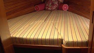 How to Make V-Berth Cushions