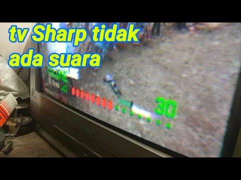 Mengatasi tv Sharp tidak ada suaranya