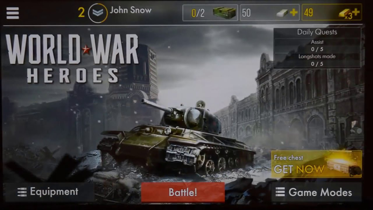 World War Heroes Hack 2019 - Free 90,000 Gold Cheats - Android & IOS