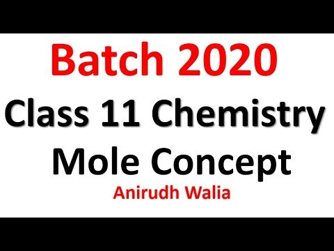 Mole Concept Complete Notes    Class 11    chemistry notes    class 11  chemistry