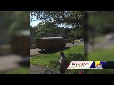 Overlea resident's video captures speeding school bus