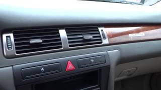 2000 Audi A6 Redding, Eureka, Red Bluff, Chico, Sacramento, CA YN104151