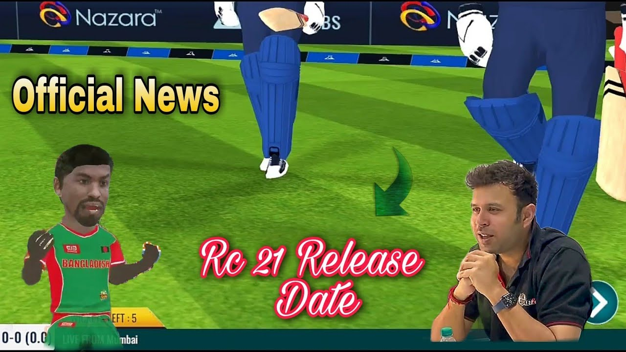 Real Cricket 21 Official Release Date   Rc 21 Release Date   Rc 21 Kab Aayega   Real Cricket 21