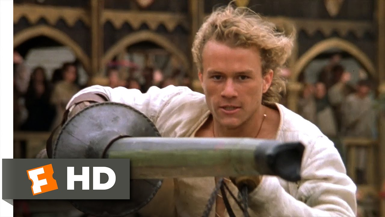 A Knight's Tale (2001) - The Tournament Scene (10/10 ...