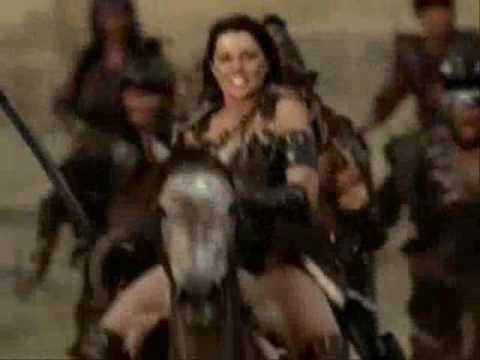 Xena Theme Song with video (FULL THEME).