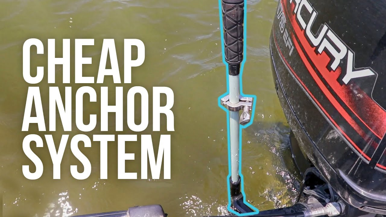Cheap Power Pole Anchor System