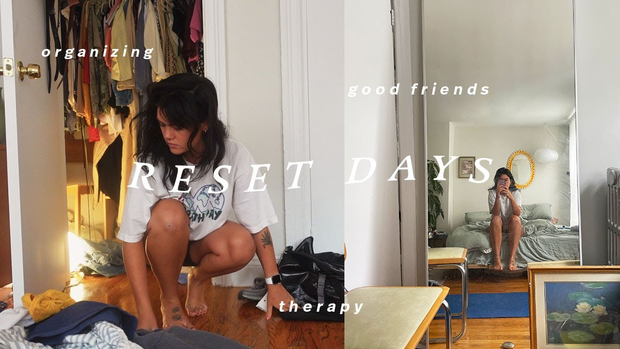 Reset Days in NYC: slow reset, boxing, self help books, cleaning & friend hangs