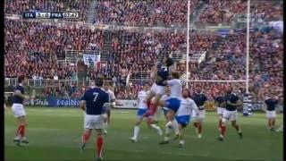 Rugby ITALIA - FRANCIA (22-21) 6 Nazioni 2011 1° Tempo