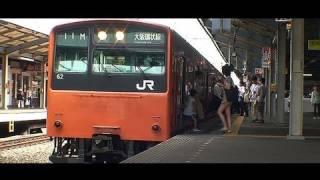 201系ええ電車だっせ kotekote osaka loop line in japan