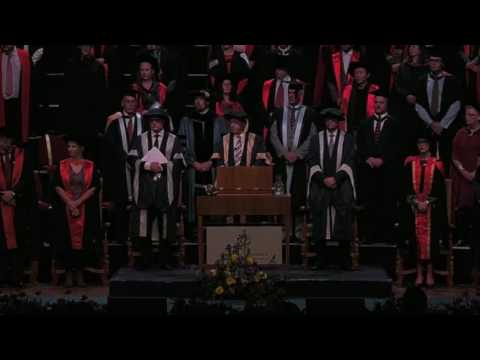 Graduation May 2016 - Wellington -Ceremony 1 | Massey University