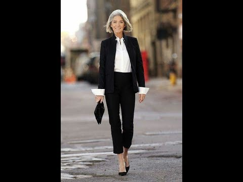 The Super Chic Casual Black Style For Women Over 50.