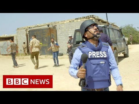 The Libyan National Army has launched airstrikes on Tripoli - BBC News