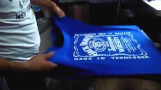 Шелкотрафаретная печать на футболках(Трафаретная печать (Шелкография) — нанесение надписей и изображений на футболки и на другие изделия..., 2016-06-16T16:17:15.000Z)