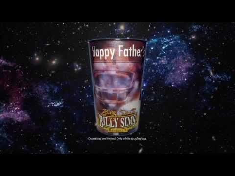 Free Billy Sims Barbecue Fathers Day Collectors Cup