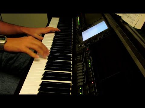 We Gather Together - piano instrumental hymn with lyrics