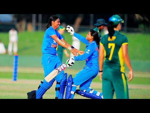 India vs South Africa women's 5th T20I : Indian eves set 166 run target, Mithali slams 50 | Oneindia